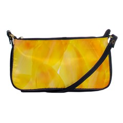 Yellow Pattern Painting Shoulder Clutch Bags