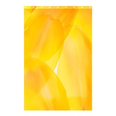 Yellow Pattern Painting Shower Curtain 48  X 72  (small)