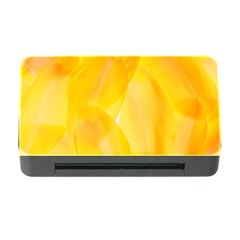 Yellow Pattern Painting Memory Card Reader With Cf