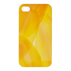Yellow Pattern Painting Apple Iphone 4/4s Hardshell Case