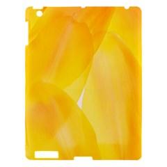 Yellow Pattern Painting Apple Ipad 3/4 Hardshell Case