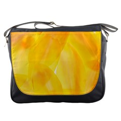 Yellow Pattern Painting Messenger Bags