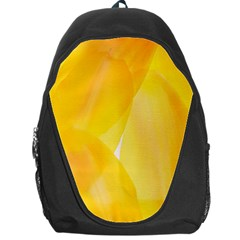 Yellow Pattern Painting Backpack Bag