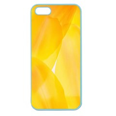Yellow Pattern Painting Apple Seamless Iphone 5 Case (color)