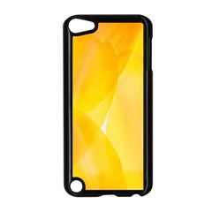 Yellow Pattern Painting Apple Ipod Touch 5 Case (black)