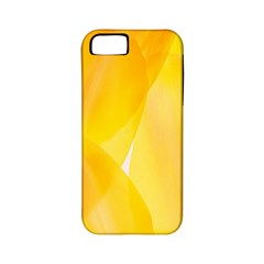 Yellow Pattern Painting Apple Iphone 5 Classic Hardshell Case (pc+silicone)