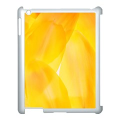 Yellow Pattern Painting Apple Ipad 3/4 Case (white)