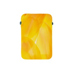 Yellow Pattern Painting Apple Ipad Mini Protective Soft Cases