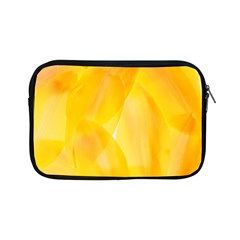 Yellow Pattern Painting Apple Ipad Mini Zipper Cases