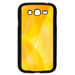 Yellow Pattern Painting Samsung Galaxy Grand Duos I9082 Case (black)