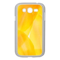 Yellow Pattern Painting Samsung Galaxy Grand Duos I9082 Case (white)