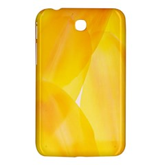 Yellow Pattern Painting Samsung Galaxy Tab 3 (7 ) P3200 Hardshell Case