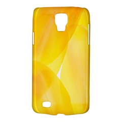 Yellow Pattern Painting Galaxy S4 Active