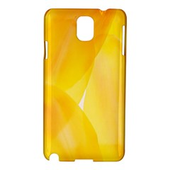 Yellow Pattern Painting Samsung Galaxy Note 3 N9005 Hardshell Case