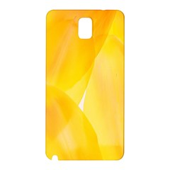 Yellow Pattern Painting Samsung Galaxy Note 3 N9005 Hardshell Back Case