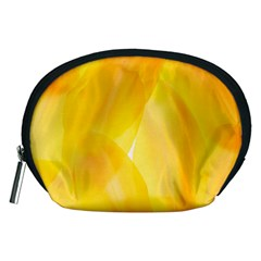 Yellow Pattern Painting Accessory Pouches (Medium)