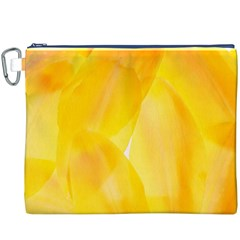 Yellow Pattern Painting Canvas Cosmetic Bag (xxxl)