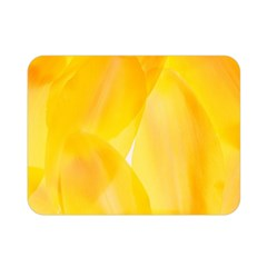 Yellow Pattern Painting Double Sided Flano Blanket (mini)