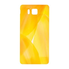 Yellow Pattern Painting Samsung Galaxy Alpha Hardshell Back Case