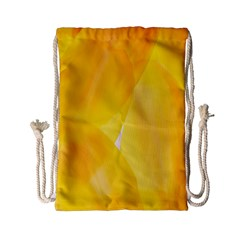 Yellow Pattern Painting Drawstring Bag (small)