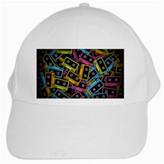 Type Pattern White Cap