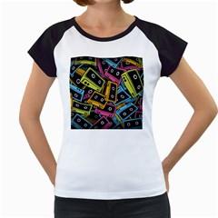 Type Pattern Women s Cap Sleeve T