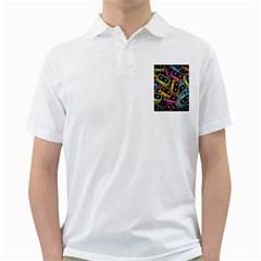Type Pattern Golf Shirts