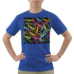 Type Pattern Dark T Shirt