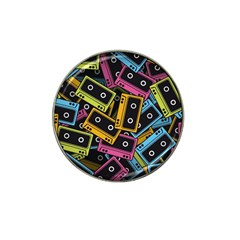 Type Pattern Hat Clip Ball Marker (4 Pack)
