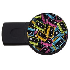 Type Pattern USB Flash Drive Round (4 GB)