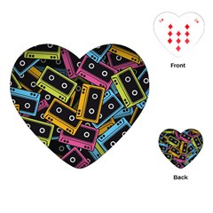 Type Pattern Playing Cards (heart)