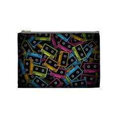 Type Pattern Cosmetic Bag (medium)