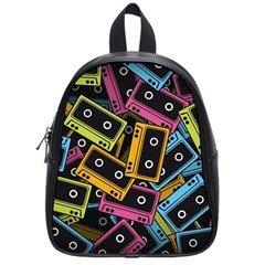Type Pattern School Bags (small)