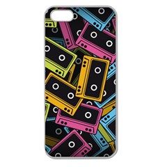 Type Pattern Apple Seamless Iphone 5 Case (clear)