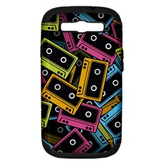 Type Pattern Samsung Galaxy S Iii Hardshell Case (pc+silicone)