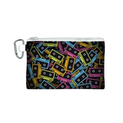 Type Pattern Canvas Cosmetic Bag (s)