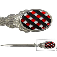 Red Textured Letter Openers