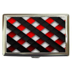 Red Textured Cigarette Money Cases