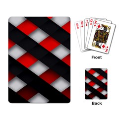 Red Textured Playing Card