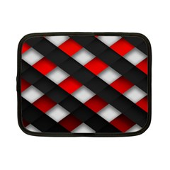 Red Textured Netbook Case (small)