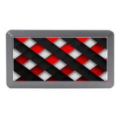 Red Textured Memory Card Reader (mini)