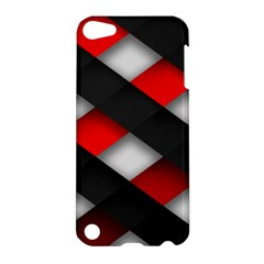 Red Textured Apple Ipod Touch 5 Hardshell Case