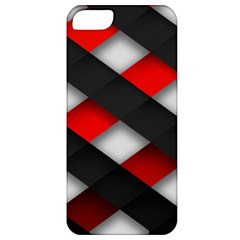 Red Textured Apple Iphone 5 Classic Hardshell Case