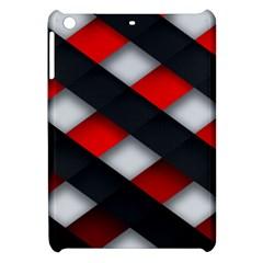 Red Textured Apple Ipad Mini Hardshell Case