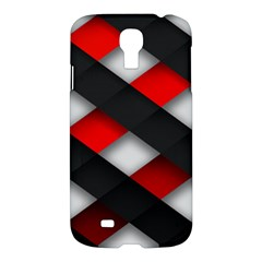 Red Textured Samsung Galaxy S4 I9500/i9505 Hardshell Case