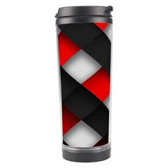 Red Textured Travel Tumbler