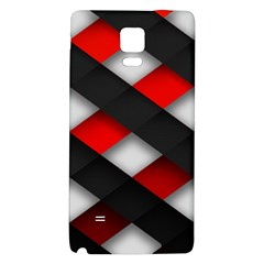 Red Textured Galaxy Note 4 Back Case