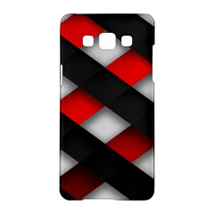 Red Textured Samsung Galaxy A5 Hardshell Case