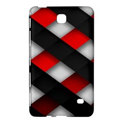 Red Textured Samsung Galaxy Tab 4 (8 ) Hardshell Case