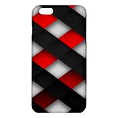 Red Textured Iphone 6 Plus/6s Plus Tpu Case